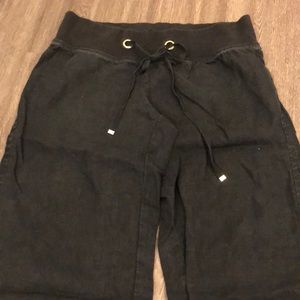 Black Lilly Pulitzer Beach Pants Size Small